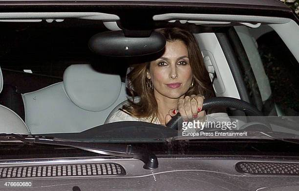 Paloma Cuevas attends the babyshower party of Gemma RuizCuadrado on June 10 2015 in Madrid Spain