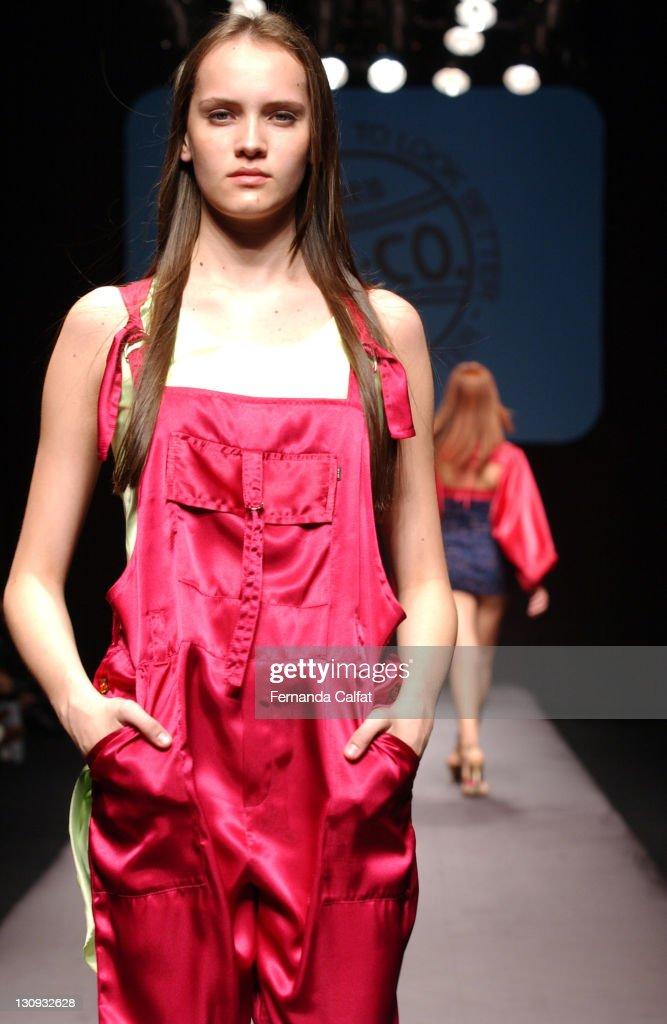 Paloma Dreher during Goias Marca Moda Fashion Shows MTZCO at Oliveira's Place in Goiania Goias Brazil