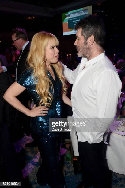 Paloma Faith and Simon Cowell attend the 26th annual Music Industry Trust Awards held at The Grosvenor House Hotel on November 6 2017 in London...