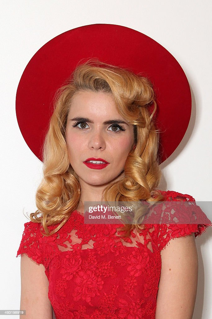 <a gi-track='captionPersonalityLinkClicked' href=/galleries/search?phrase=Paloma+Faith&family=editorial&specificpeople=4214118 ng-click='$event.stopPropagation()'>Paloma Faith</a> attends a private view of works by master sculptor Igor Mitoraj to launch Contini Art UK, a new gallery opening on New Bond Street, on May 22, 2014 in London, England.