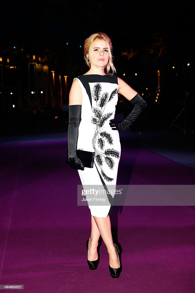 Paloma Faith attends Singapore Tennis Evening during BNP Paribas WTA Finals at Marina Bay Sands on October 30, 2015 in Singapore.