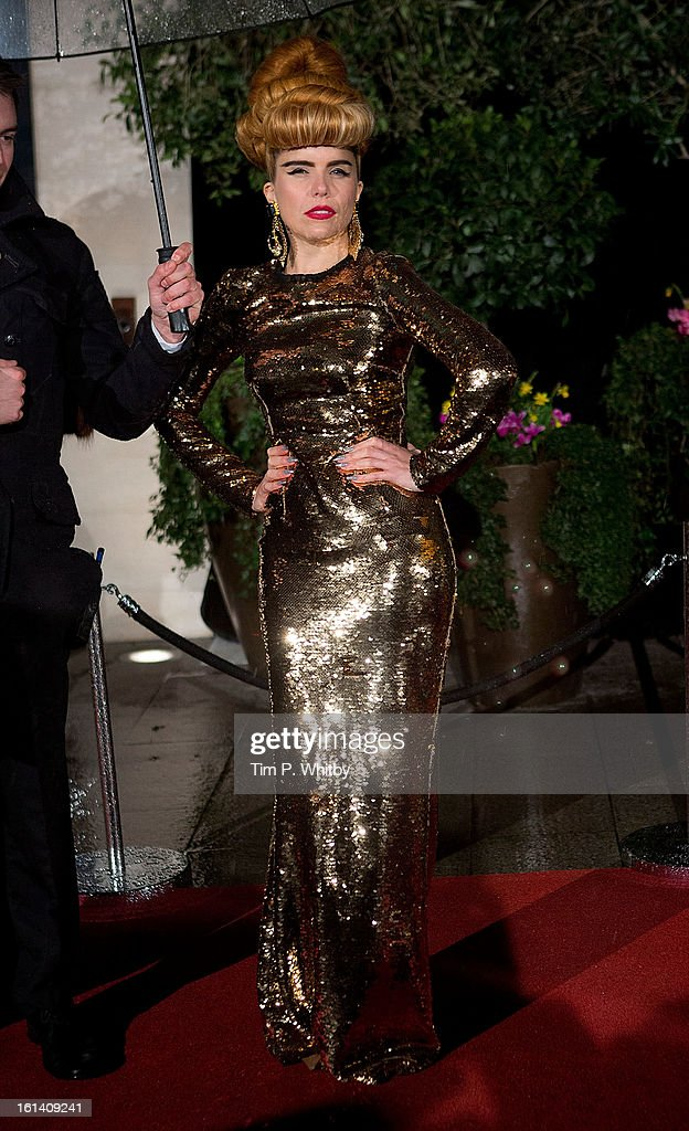 Paloma Faith attends the after party for the EE British Academy Film Awards at Grosvenor House, on February 10, 2013 in London, England.