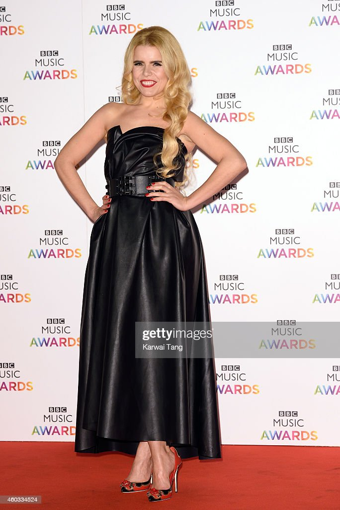 <a gi-track='captionPersonalityLinkClicked' href=/galleries/search?phrase=Paloma+Faith&family=editorial&specificpeople=4214118 ng-click='$event.stopPropagation()'>Paloma Faith</a> attends the BBC Music Awards at Earl's Court Exhibition Centre on December 11, 2014 in London, England.