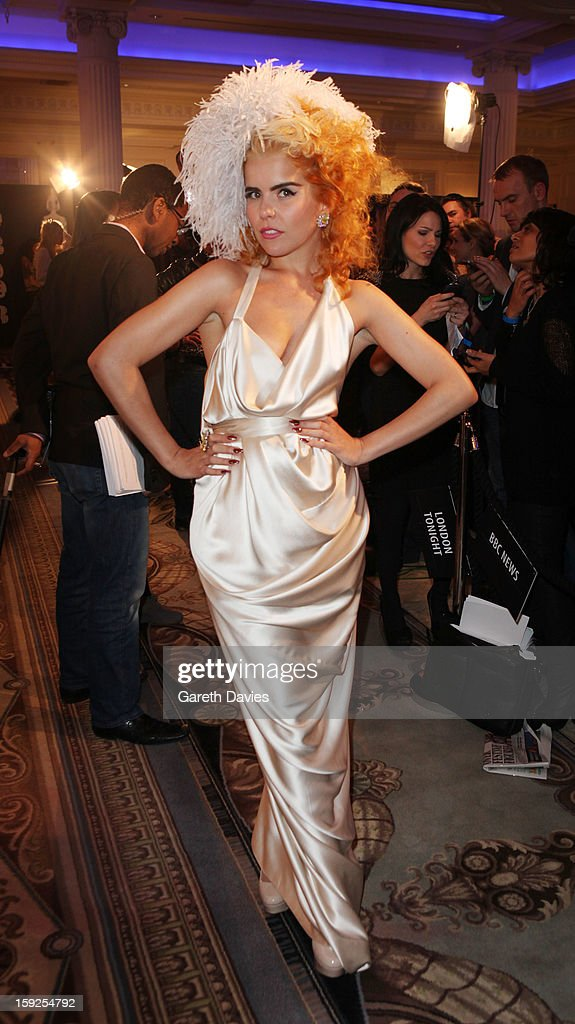 <a gi-track='captionPersonalityLinkClicked' href=/galleries/search?phrase=Paloma+Faith&family=editorial&specificpeople=4214118 ng-click='$event.stopPropagation()'>Paloma Faith</a> attends the BRIT Awards nominations announcement at The Savoy Hotel on January 10, 2013 in London, England.