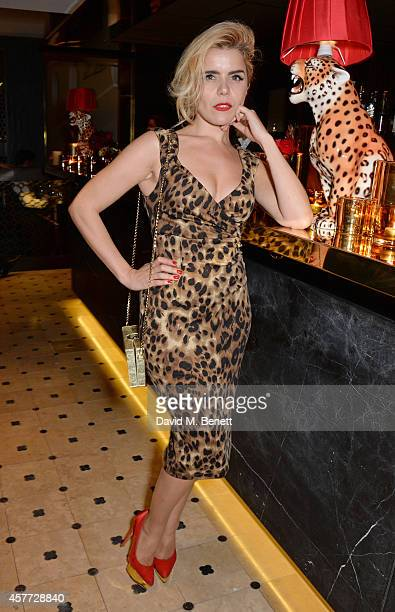 Paloma Faith attends the Charlotte Olympia 'Handbags for the Leading Lady' launch dinner at Toto's Restaurant on October 23 2014 in London England