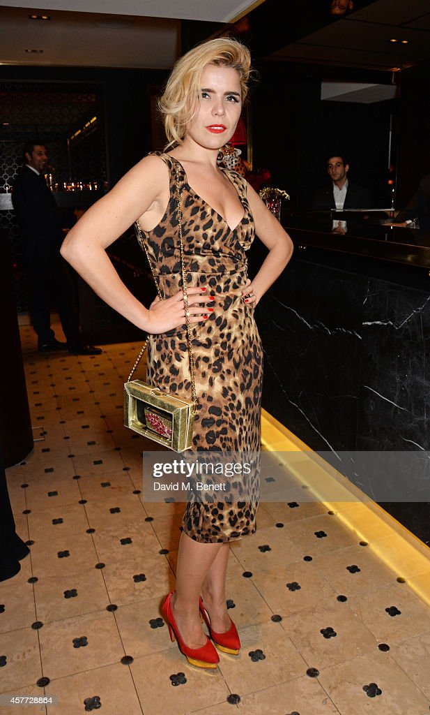 Paloma Faith attends the Charlotte Olympia 'Handbags for the Leading Lady' launch dinner at Toto's Restaurant on October 23, 2014 in London, England.