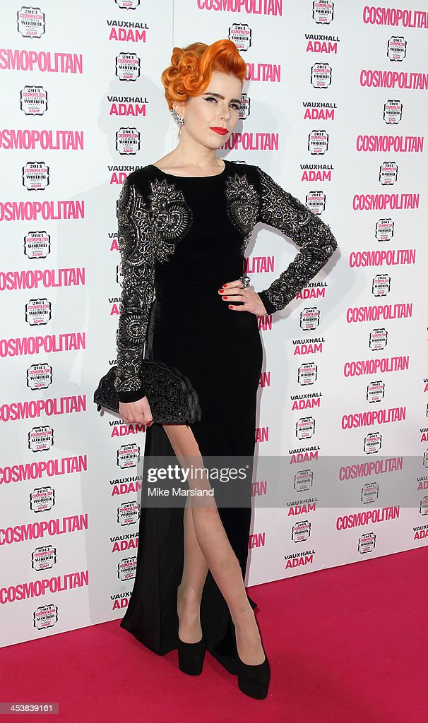 <a gi-track='captionPersonalityLinkClicked' href=/galleries/search?phrase=Paloma+Faith&family=editorial&specificpeople=4214118 ng-click='$event.stopPropagation()'>Paloma Faith</a> attends the Cosmopolitan Ultimate Women of the Year Awards at Victoria & Albert Museum on December 5, 2013 in London, England.