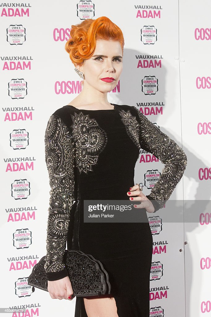 Paloma Faith attends the Cosmopolitan Ultimate Women of the Year Awards at Victoria & Albert Museum on December 5, 2013 in London, England.