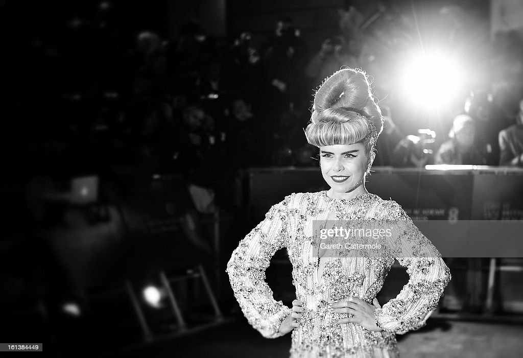<a gi-track='captionPersonalityLinkClicked' href=/galleries/search?phrase=Paloma+Faith&family=editorial&specificpeople=4214118 ng-click='$event.stopPropagation()'>Paloma Faith</a> attends the EE British Academy Film Awards at The Royal Opera House on February 10, 2013 in London, England.