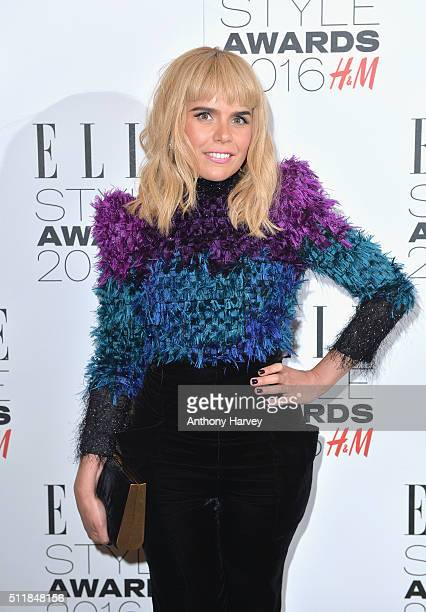 Paloma Faith attends The Elle Style Awards 2016 on February 23 2016 in London England