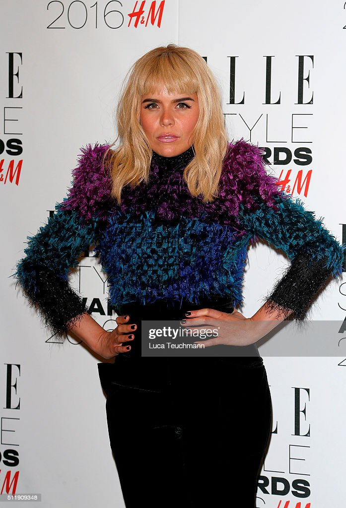 Paloma Faith attends The Elle Style Awards 2016 on February 23, 2016 in London, England.