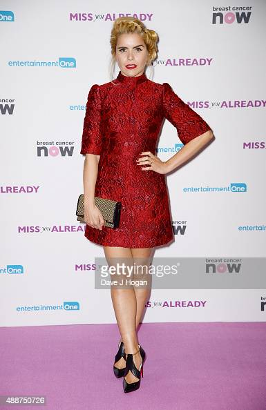 Paloma Faith attends the European Premiere of 'Miss You Already' at Vue West End on September 17 2015 in London England