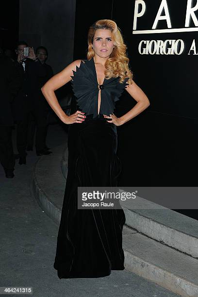 Paloma Faith attends the Giorgio Armani Prive show as part of Paris Fashion Week Haute Couture Spring/Summer 2014 on January 21 2014 in Paris France