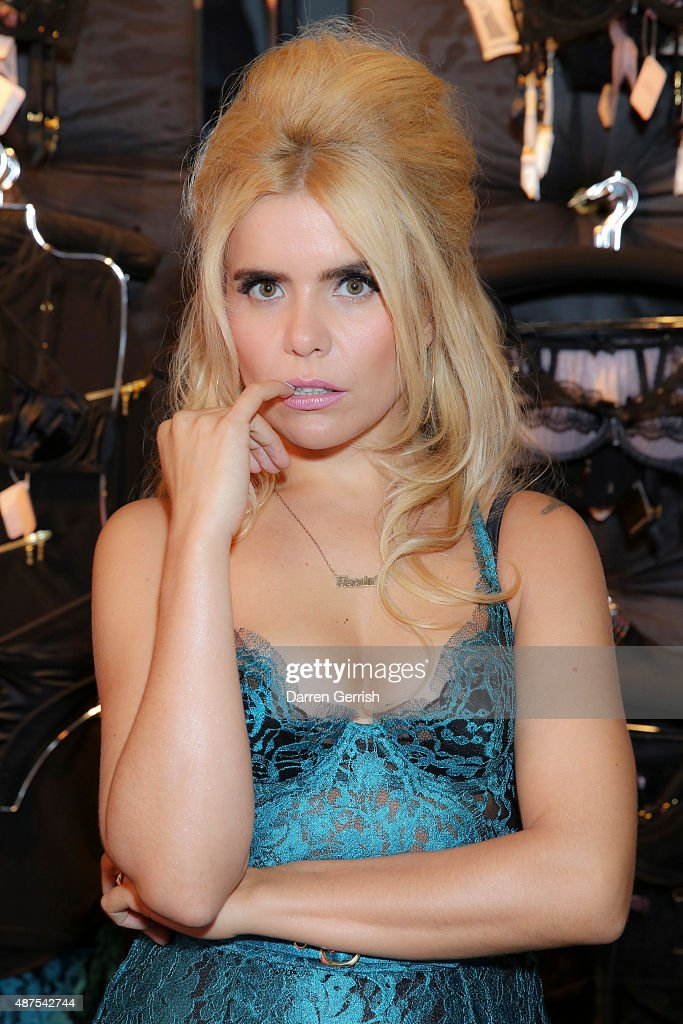 Agent Provocateur Autumn Winter Campaign With Paloma Faith