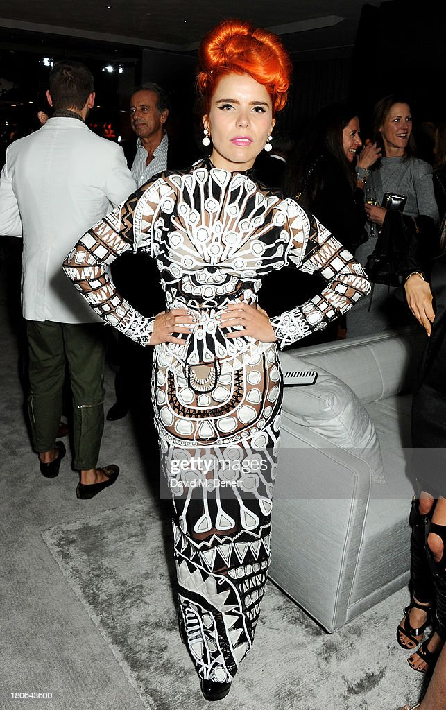 Paloma Faith attends the launch of the new Tom Ford London flagship store on Sloane Street on September 15, 2013 in London, England.