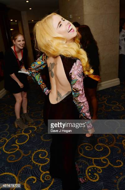 Paloma Faith attends the Nordoff Robbins 02 Silver Clef awards at London Hilton on July 4 2014 in London England