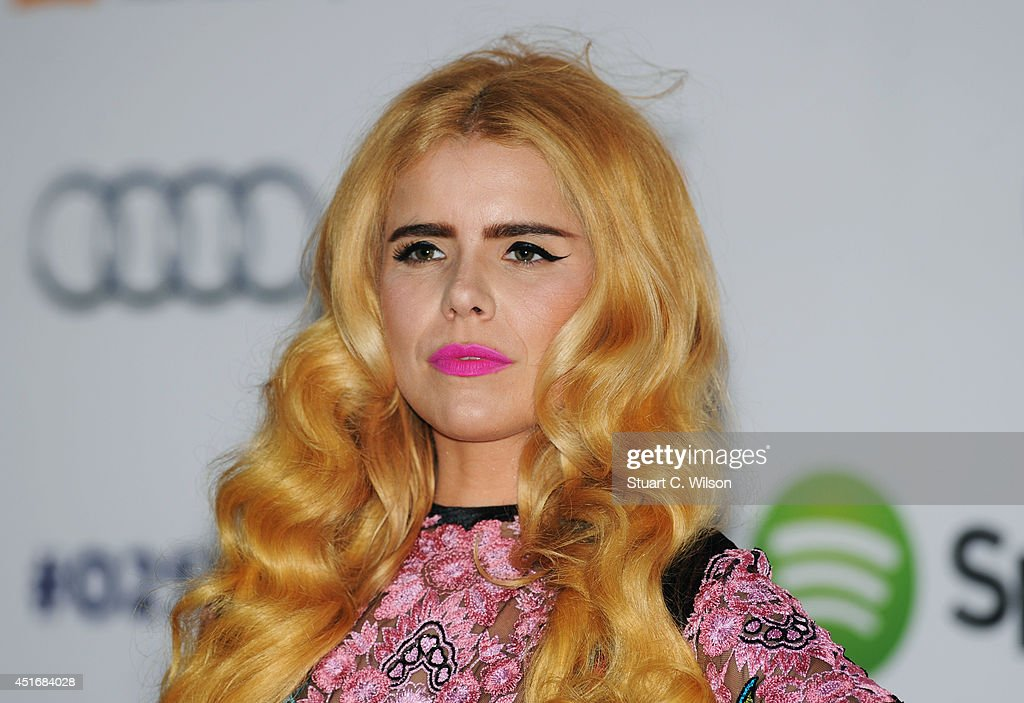 Paloma Faith attends the Nordoff Robbins 02 Silver Clef awards at London Hilton on July 4, 2014 in London, England.