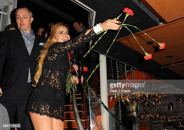 Paloma Faith attends the Sony after party for the BRIT Awards 2015 at SUSHISAMBA on February 25 2015 in London England