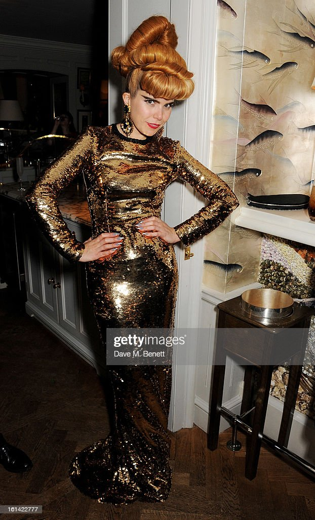 Paloma Faith attends The Weinstein Company and Entertainment Film Distributors Post-BAFTA Party hosted by Chopard and Grey Goose at LouLou's on February 10, 2013 in London, England.