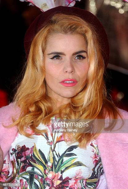 Paloma Faith attends the World Premiere of 'Cuban Fury' at Vue Leicester Square on February 6 2014 in London England