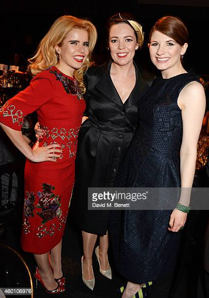 Paloma Faith Olivia Colman and Jodie Whittaker attend The Moet British Independent Film Awards 2014 at Old Billingsgate Market on December 7 2014 in...