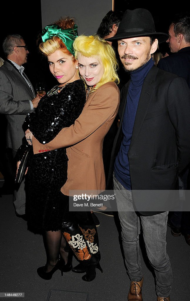 Paloma Faith, Pam Hogg and Matthew Williamson attend a party celebrating the global launch of Audi City, Audi's first digital showroom, featuring an art installation by Chris Cunningham, on July 16, 2012 in London, England.