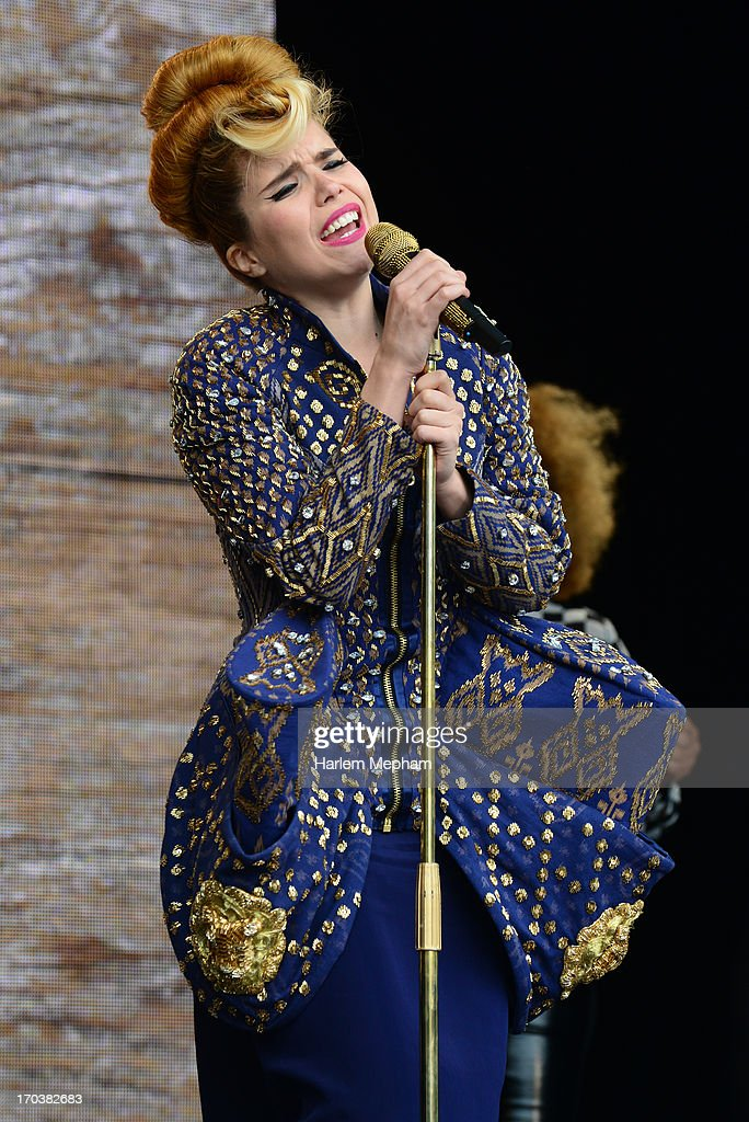 Paloma Faith performs at the Tate Modern on June 12, 2013 in London, England.