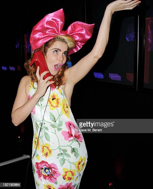 Paloma Faith performs at the Virgin Media Shorts Awards Ceremony 2011 at BFI Southbank on November 10 2011 in London England