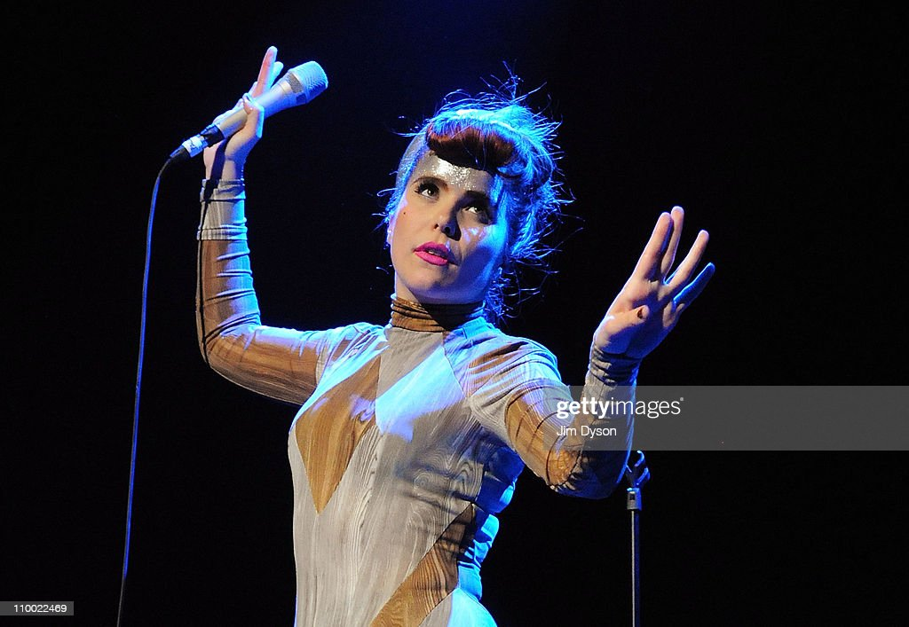Paloma Faith performs during the 'Women Of The World: Equals' live concert to celebrate the 100th anniversary of International Women's Day at the Royal Festival Hall on March 11, 2011 in London, England.