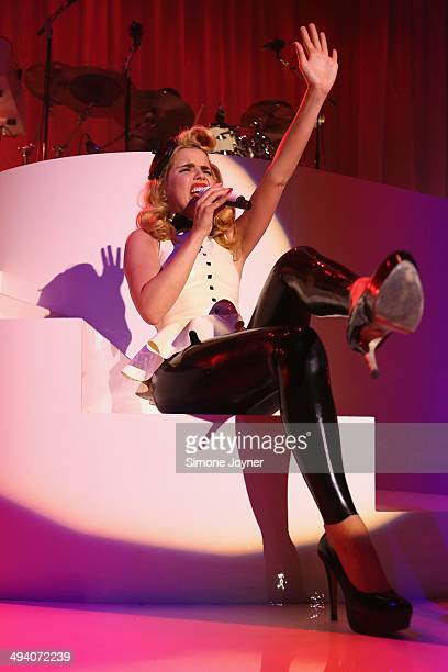 Paloma Faith performs live on stage at The Roundhouse on May 27 2014 in London England