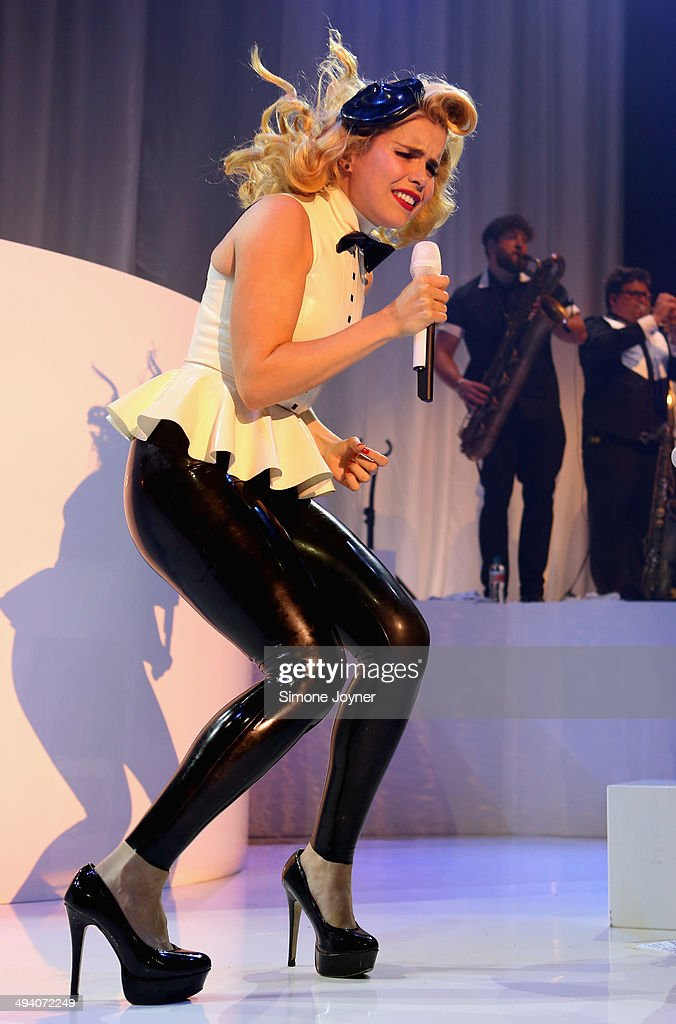 <a gi-track='captionPersonalityLinkClicked' href=/galleries/search?phrase=Paloma+Faith&family=editorial&specificpeople=4214118 ng-click='$event.stopPropagation()'>Paloma Faith</a> performs live on stage at The Roundhouse on May 27, 2014 in London, England.