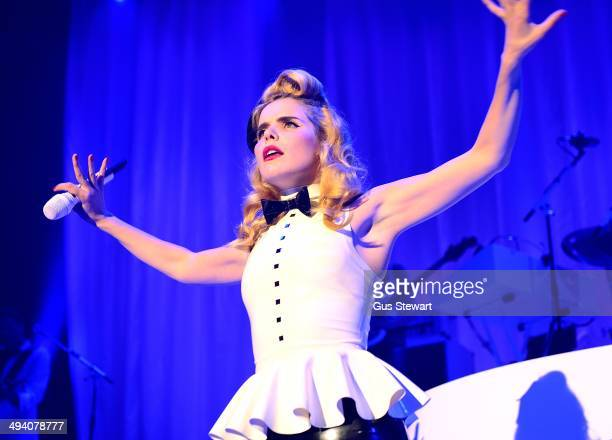 Paloma Faith performs on stage at The Roundhouse on May 27 2014 in London United Kingdom