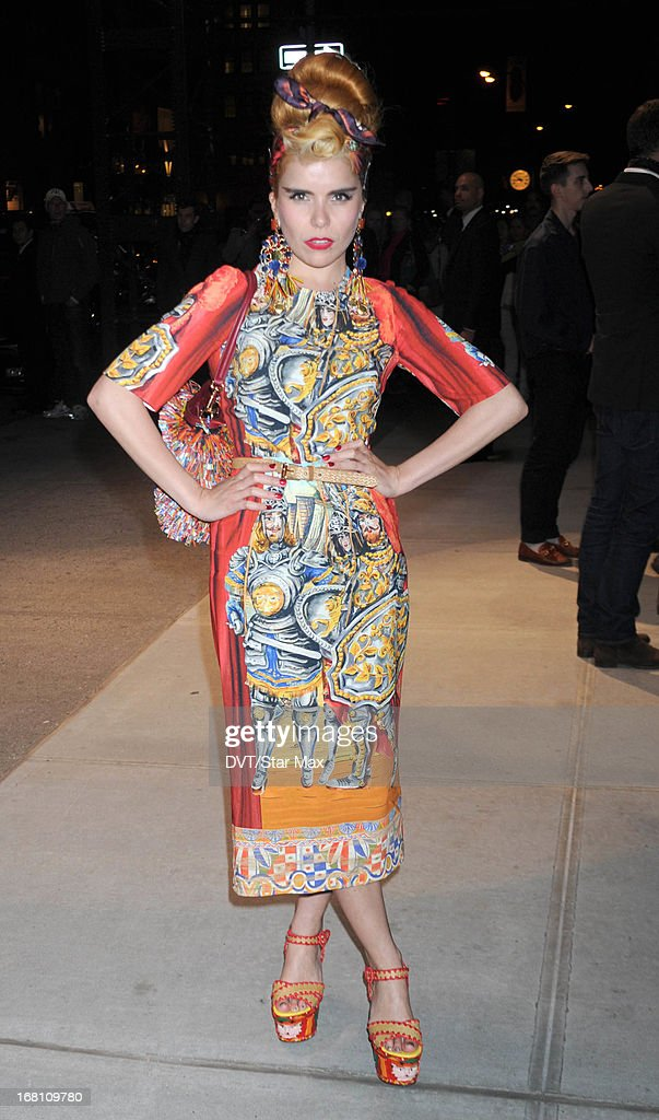 Paloma Faith seen on May 4, 2013 in New York City.