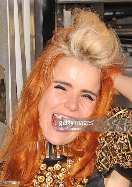 Paloma Faith sighting at Annabels on September 25 2012 in London England