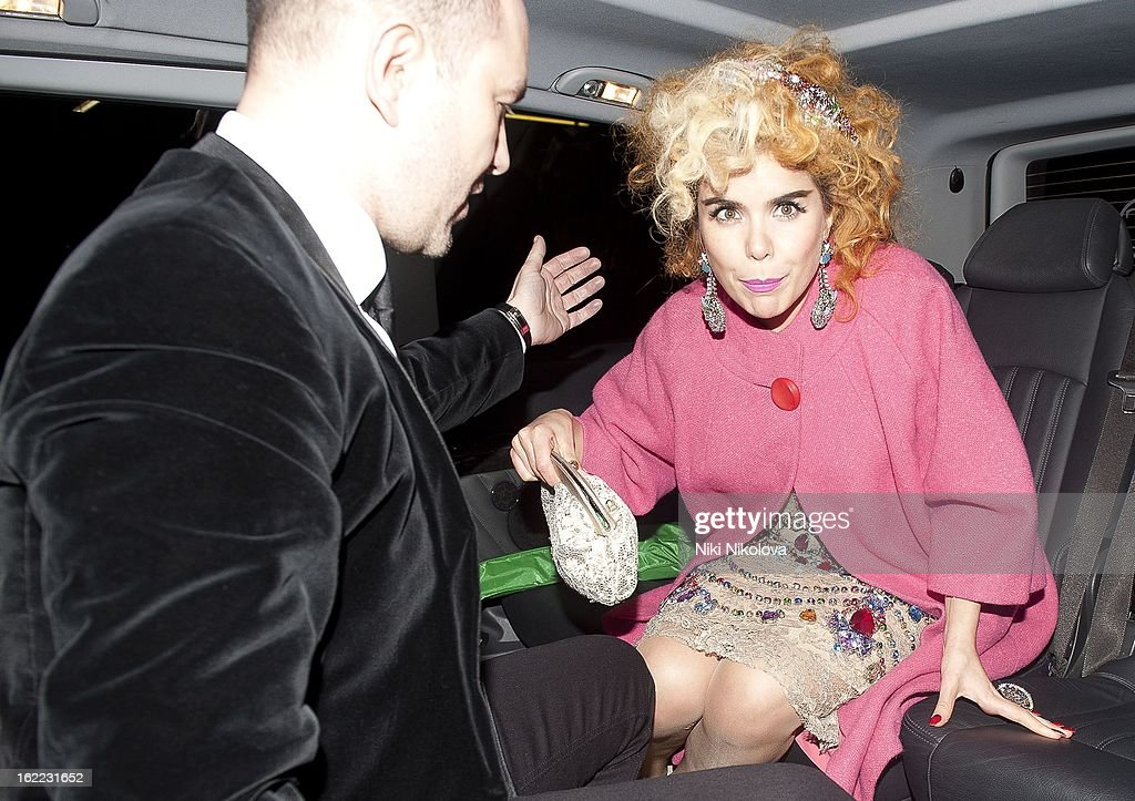 <a gi-track='captionPersonalityLinkClicked' href=/galleries/search?phrase=Paloma+Faith&family=editorial&specificpeople=4214118 ng-click='$event.stopPropagation()'>Paloma Faith</a> sighting on February 20, 2013 in London, England.