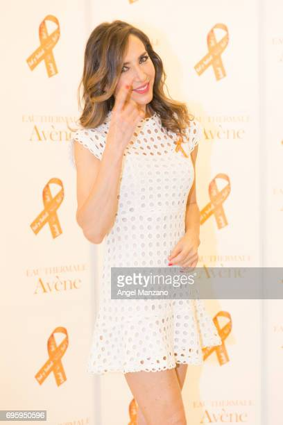 Paloma Lago attends Skin Cancer Prevention European Day campaign by Avene on June 13 2017 in Madrid Spain