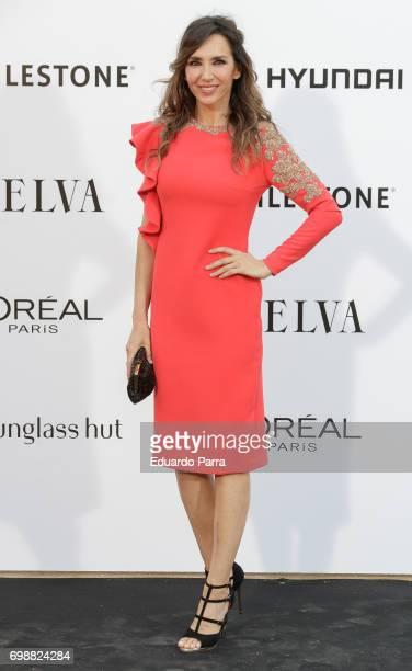Paloma Lago attends the 'La Moda en la calle by Telva' event at Las Ventas bullring on June 20 2017 in Madrid Spain