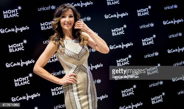 Paloma Lago attends the Montblanc Presents Charity Collection For UNICEF on April 25 2017 in Madrid Spain