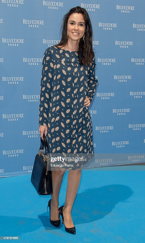 Paloma Lorenzo attends Belvedere Vodka party photocall at Principe Pio train station on March 20, 2014 in Madrid, Spain.