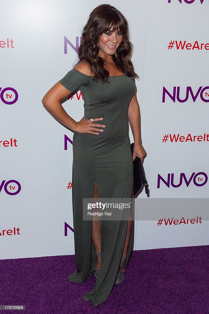 Paloma Michelle attends NUVOtv Network launch party at The London West Hollywood on July 16, 2013 in West Hollywood, California.