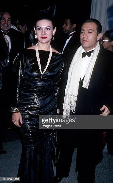 Paloma Picasso and Rafael LopezSanchez circa 1983 in New York City