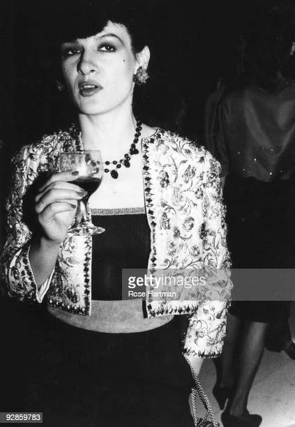 Paloma Picasso at Studio 54 New York 1977