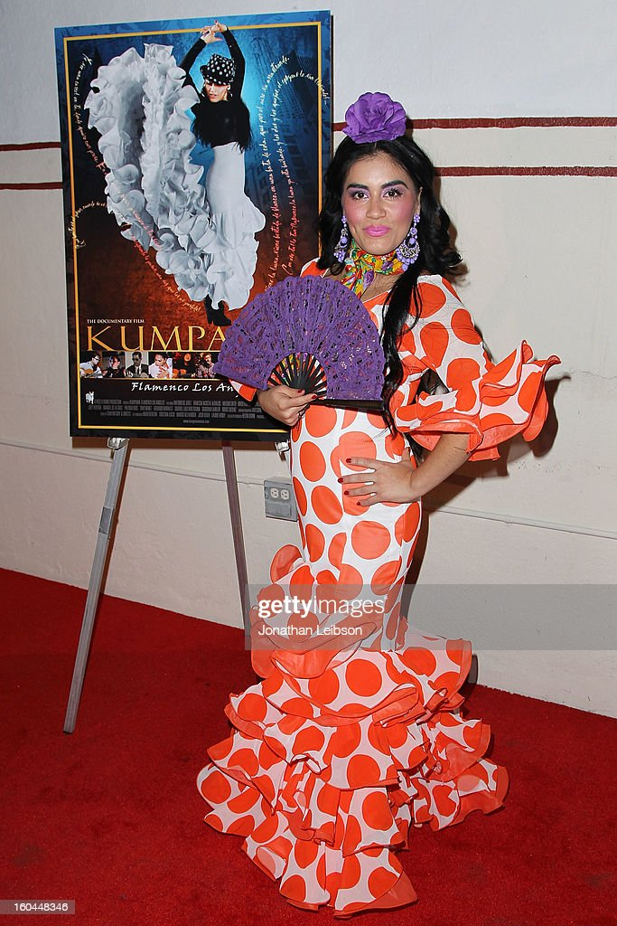 Paloma Rios attends the 'Kumpania: Flamenco Los Angeles' - Los Angeles Premiere - Arrivals at El Cid on January 31, 2013 in Los Angeles, California.