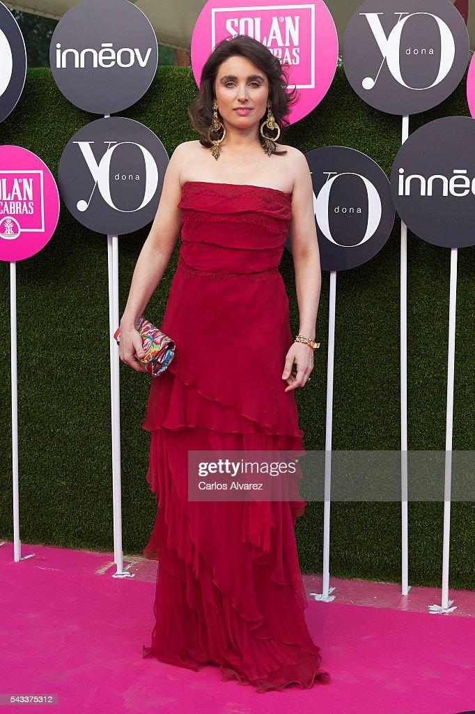 Paloma Segrelles attends 'Yo Dona' International awards on June 27, 2016 in Madrid, Spain.