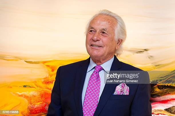 Palomo Linares attends the 'Palomo Linares Exhibition' presentation at David Bardia Gallerie on May 5 2016 in Madrid Spain