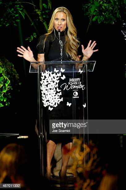 Palter DeLiso cofounder Lauren Bruksch onstage at 2014 Variety Power of Women presented by Lifetime at Beverly Wilshire Four Seasons on October 10...