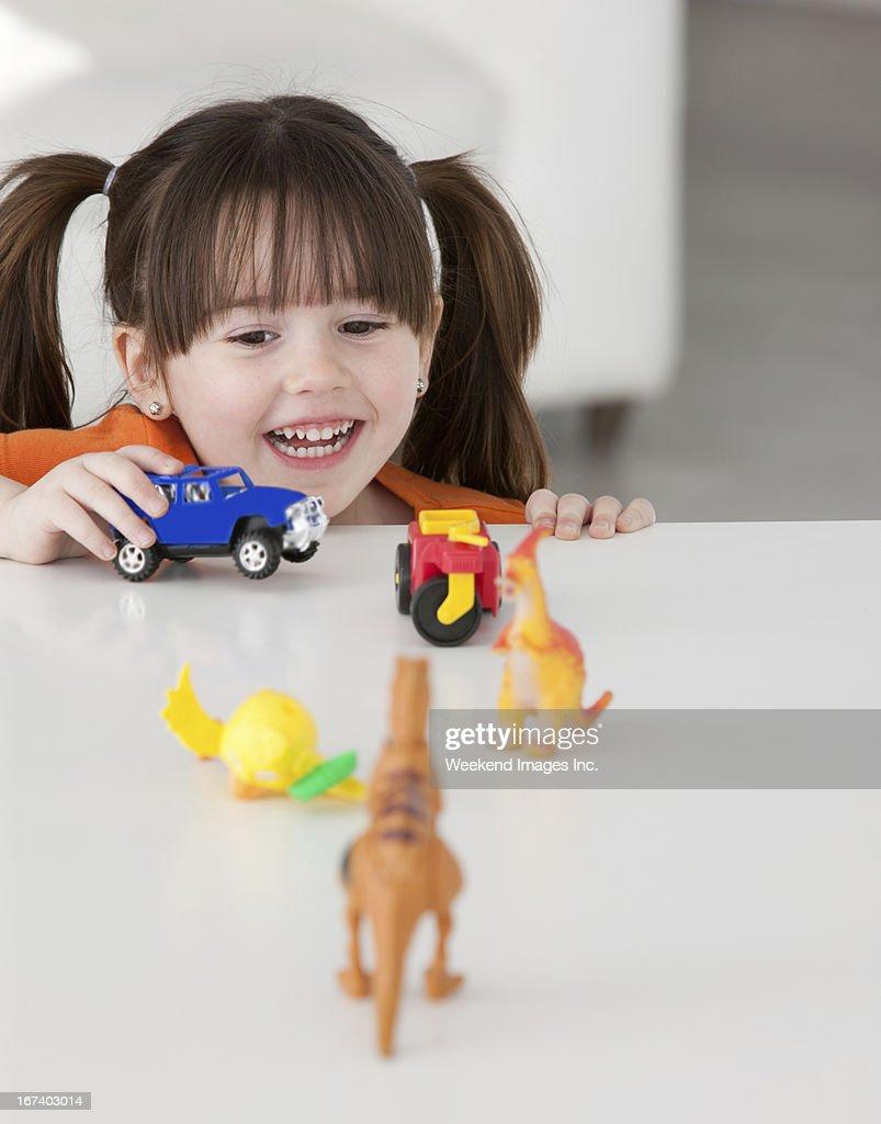 Palying toddler : Stock Photo