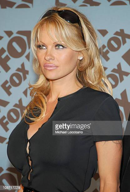 Pam Anderson during 2005/2006 FOX Prime Time UpFront Arrivals in New York City New York United States