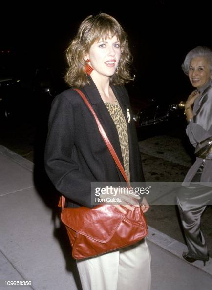Pam Dawber during Pam Dawber Sighting at Chasen's Restaurant May 28 1986 at Chasen's Restaurant in Los Angeles California United States