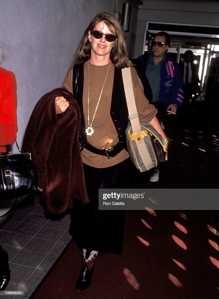 Pam Dawber during Pam Dawber Sighting at Los Angeles International Airport October 27 1992 at LAX in Los Angeles California United States